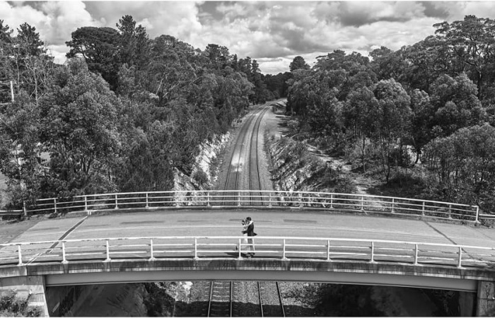 Amazing pic of our Penrose railway bridge The very talented gavin Cato photogra