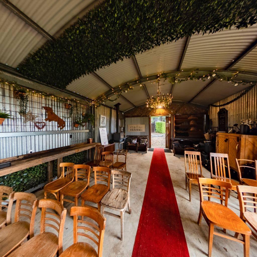 Thanks to David at Videoworx is this 360 image of the barn at Sylvan Glen - set